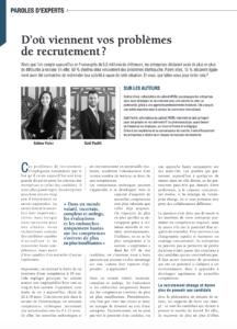 Magazine Décideurs - Systèmes de rémunération et Stratégies de recrutement - WOM