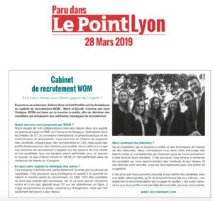 Interview de WOM du magazine Le Point Lyon